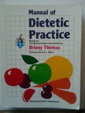 Manual of Dietetic Practice,THOMAS