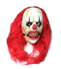 Maschere rossi senza marca in latex per carnevale e teatro