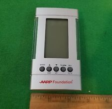 AARP Digital Clock and Thermometer