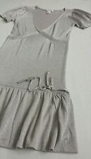 Women's Mango jumper tunic knit mini dress grey - silver color size S BNWOT
