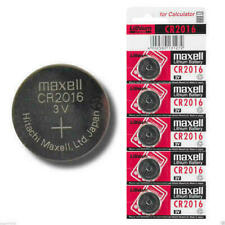 GENUINE 10 X MAXELL CR2016 3V COIN CELL BATTERY 2016 DL/BR2016 MADE IN JAPAN