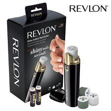 Revlon electric Nail Buffer Shine Addict Micro-Grain Battery Nail Buffer,  Shine