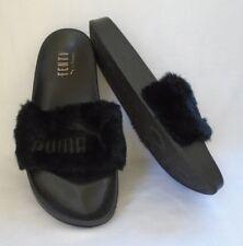 07b9fec5c3da Fenty Puma by Rihanna Leadcat Fenty Faux-Fur Slide Sandal US Size 8 1