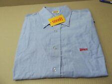 Camisa Promocional Gin Larios, XL Azúl cielo manga larga,vintage
