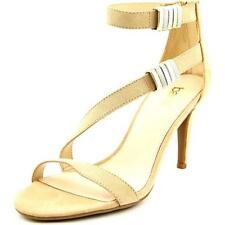 Sandalias y chanclas de mujer de tacón alto (más que 7,5 cm) de color principal crema talla 37