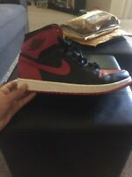 Jordan 1 Bred Banned Custom