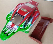1/10 RC Off Road Buggy Body Shell Red w/Spoiler