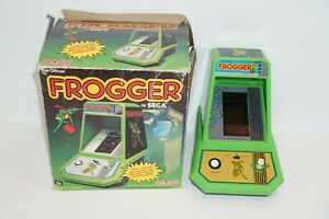 Coleco - Official Frogger By Sega Table Top Mini Arcade Game 1982 Working - EUC