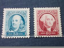 Franklin & Washington: Sesquicentennial Stamps Face Value $1.10