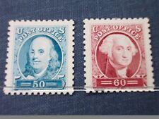 Franklin & Washington: Sesquicentennial Stamps