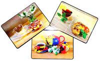 6 Stück Tischset / Platzset / Platzdeckchen / Tee / abwaschbar / Tischmatte