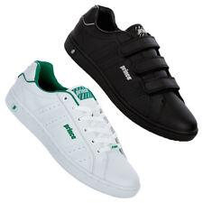 Prince Classic Herren Leder Schuhe 41 42 43 44 46 47 Sneaker Lace Klett neu