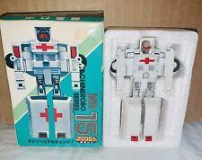 Vintage 1980's Bandai Gobots Machine Robo Rest-Q MR-15 toy w/box Popy Japan