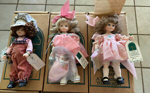 3 Robin Woods Vintage Dolls New in Box