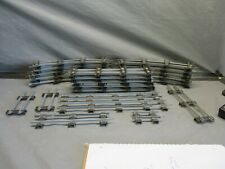 American Flyer S Scale 20 Curves, 10 Straights & 7 Custom Pieces of Track