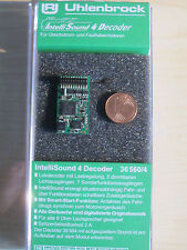 Uhlenbrock 36560 H0 Sound4 Decoder PluX22 MOT DCC + Wunschsound (36360) Neu OVP