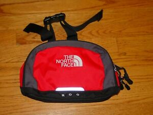 The North Face ROO Fanny Pack Sling Bag Black Hiking Travel