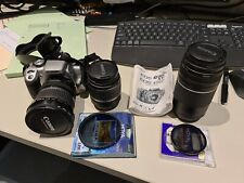 Canon Eos 400d and 3 Canon lenses