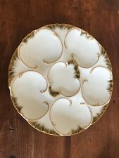 Antique Oyster Plate - Haviland Limoges