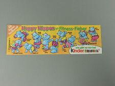 HPF-BPZ: Happy ippopotamo nel fitness febbre 1990 (100% ORIGINALE)