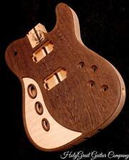 HH Telecaster Body / Flame Maple / Wenge / Alder / Tele Guitar Body / Pre-Order