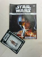 Star Wars - Wedge Antilles - DeAgostini   No:35 - Magazine and Figure - Free P&P