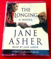 Jane Asher Reads The Longing 2-Tape Audio Book Thriller/Stolen Baby