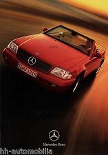 Mercedes SL Preisliste 31.1.08 Auto 2008 PKWs Preise price list prijslijst Auto
