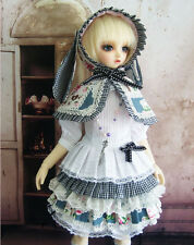 1/3 BJD SD girl doll outfits alice in wonderland rabbit dress dollfie luts