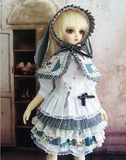 1/3 BJD SD girl doll outfits alice in wonderland rabbit dress dollfie luts