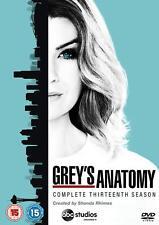 Grey's Anatomy Season Series 13 Thirteen Thirteenth Genuine UK R2 DVD Fast Post