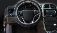 Car Accessories Soft Wool Plush Auto Car Steering Wheel Cover For Winter 36-38CM