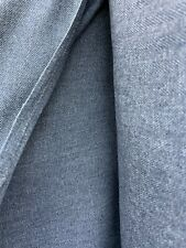 SLATE GRAY HERRINGBONE 100% POLYESTER SUITING FABRIC (54 in.) Sold By The Yard