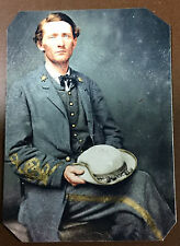 """civil war John """"Grey Ghost""""Mosby Colonel Of The Confederacy tintype C036RP"""