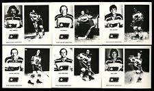 1972-73 OTTAWA NATIONALS WHA HOCKEY~COMPLETE SET (23/23) MINT ORIGINAL ENVELOPE