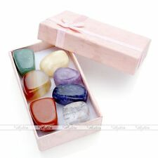 7 Chakra Reiki Healing Gemstones Box Set Home Office Decoration Ornament Gift