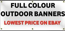 PVC Banner 2ft x 8ft- Printed Outdoor Vinyl Sign for Business Parties Birthdays