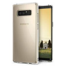 Samsung Galaxy 8 caso claro transparente TPU Note Gel De Silicona Cubierta Trasera