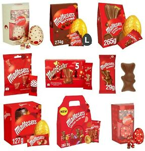 MALTESERS EASTER EGGS CHOCOLATE BUNNIES TREATS SWEETS EASTER BBE May 2021