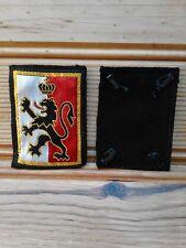 ecusson patch insigne militaire broderie tissu division infanterie avec attaches