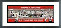 """Chicago Blackhawks 2013 Stanley Cup Champions Photo (Size: 18.5"""" x 42.5"""") Framed"""