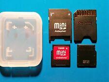 Vendo MiniSD da 256MB marchiata Vodafone + Adapter !!!
