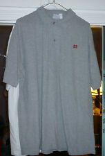 adult large school uniform shirt Mater Dei poly cotton gray w/logo very nice!