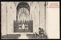 38258/ AK - Winchester Cathedral - Interior and Screen - *