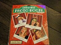 Christmas Photo Booth Props 6 Selfie Props Frame Not Included New  Free Postage