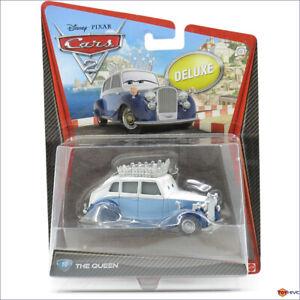 Disney Pixar Cars 2 Deluxe - The Queen #10 - 2011 diecast by Mattel
