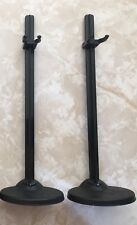 "Monster High 11"" Doll STANDS BLACK SET OF 2 Lot"