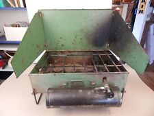 1940's Coleman 417b Gas Camping Stove in working condition