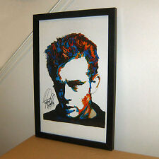 James Dean Celebrity Rebel Without a Cause Actor Print Poster Wall Art 11x17