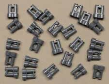 x25 NEW Lego Binoculars Minifig Utensil OR Machine Gun Parts DARK BLUISH GRAY